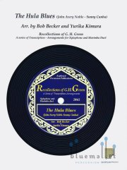 Noble , John Avery / Cunha , Sunny - The Hula Blues arr. by Bob Becker & Yurika Kimura (スコア・パート譜セット) (特価品)