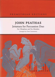 Psathas , John - Jettatura for Percussion Duo (スコア・パート譜セット)