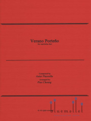 Piazzolla , Astor - Verano Porteno for Marimba Duo arranged by Pius Cheung (スコア・パート譜セット) (特価品)