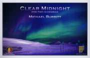 Burritt , Michael - Clear Midnight (スコア・パート譜セット)