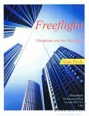 Peck , Alan - Freeflight for Vibraphone and two Marimbas (スコア・パート譜セット)