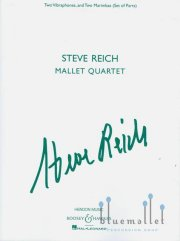 Reich , Steve - Mallet Quartet (パート譜のみ) (特価品)
