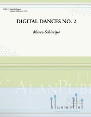 Schirripa , Marco - Digital Dances No.2 (スコア・パート譜セット)