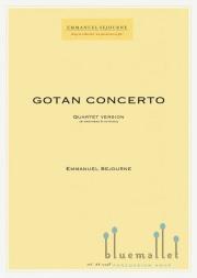 Sejourne , Emmanuel - Gotan Concerto (マリンバ4台のカルテット版/スコア・パート譜セット)