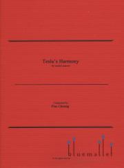 Cheung , Pius - Tesla's Harmony for Mallet Quartet (スコア・パート譜セット)