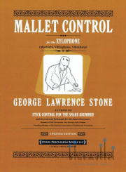 Stone , George Lawrence - Mallet Control for the Xylophone (Marimba Vibraphone Vibraharp) (特価品)