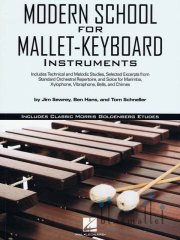 Swerey , Jim / Hans , Ben / Schneller , Tom - Modern School for Mallet-Keyboard Instruments (特価品)