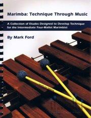 Ford , Mark  - Marimba : Technique Through Music (特価品)