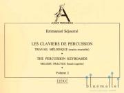 Sejourne , Emmanuel - Les Claviers de Percussion Volume 2