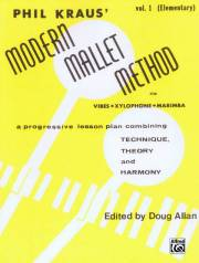 Kraus , Phil - Modern Mallet Method vol.1 for Vibes Xylophone Marimba (特価品)
