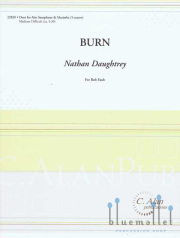 Daughtrey , Nathan - Burn (スコア・パート譜セット)