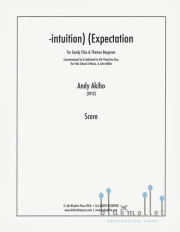 Akiho , Andy - -intuition) (Expectation (スコア・パート譜セット)