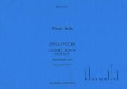 Heider , Werner - Laudate Lignum ; Pendant  Two Pieces for Marimbaphon Solo (特価品)