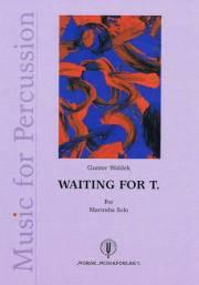 Waldek , Gunter - Waiting for T  for Marimba Solo (特価品)