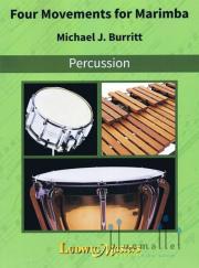 Burritt , Michael - Four Movements for Marimba (特価品)