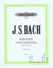 Bach , Johann Sebastian - Sonaten und Partiten Violine Solo (pub. by Peters) (ed. by Carl Flesch) (特価品)