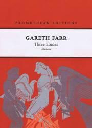 Farr , Gareth - Three Etudes (特価品)