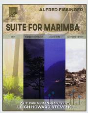 Fissinger , Alfred - Suite for Marimba (特価品)
