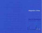 Vinao , Alejandro - Burritt Variations for Solo Marimba (特価品)