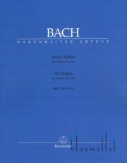 Bach , Johann Sebastian - Sechs Suiten fur Violoncello Solo (pub. by Barenreiter) (ed. by Andrew Talle) (特価品)