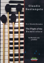 Rimsky-Korsakov , Nikolay - The Flight of The Bumblebee for Marimba Solo 4 Mallets (arr. by Claudio Santangelo)