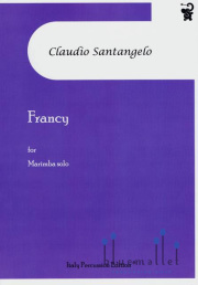 Santangelo , Claudio - Francy for Marimba Solo