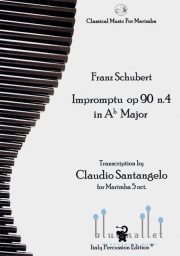 Schubert , Franz Peter - Impromptu op.90 n.4 in Ab Major (trans. by Claudio Santangelo)