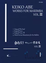Abe , Keiko - Works for Marimba vol.III (スコアのみ)