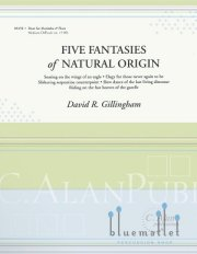Gillingham , David R. - Five Fantasies of Natural Origin (スコア・パート譜セット)