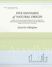 Gillingham , David R. - Five Fantasies of Natural Origin (スコア・パート譜セット) (特価品)