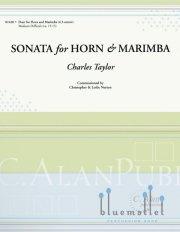 Taylor , Charles - Sonata for Horn and Marimba (スコア・パート譜セット)