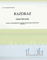 McCarthy , Daniel - Razdraz (スコア・パート譜セット)