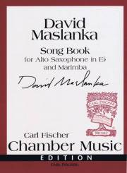 Maslanka , David - Song Book for Alto Saxophone in E♭ and Marimba (スコア・パート譜セット)
