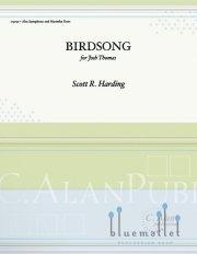 Harding , Scott R. - Birdsong (スコア・パート譜セット)