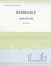McCarthy , Daniel - Rimbasly (ピアノ伴奏版/スコア・パート譜セット)