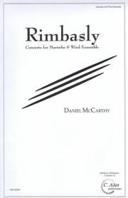 McCarthy , Daniel - Rimbasly Concerto for Marimba and Wind Ensemble (吹奏楽版スコア・パート譜セット)