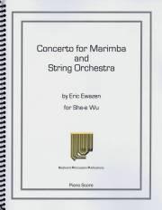 Ewazen , Eric - Concerto for Marimba (ピアノ伴奏版 / スコア・パート譜セット) (特価品)