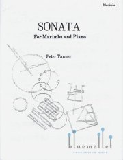 Tanner , Peter - Sonata for Marimba and Piano (スコア・パート譜セット) (特価品)