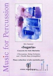 Sammut , Eric - Sugaria Concerto for Solo Marimba (ピアノ伴奏版/スコア・パート譜セット)
