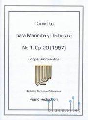 Sarmientos , Jorge - Concerto para Marimba y Orchestra (ピアノ伴奏版 / スコア・パート譜セット) (特価品)