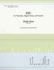 Kato , Daiki - Ziu for Marimba, Digital Delay, and Sounds