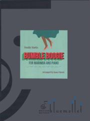 Martin , Freddy - Bumble Boogie for Marimba and Piano arr. by Kana Omori (スコア・パート譜セット)
