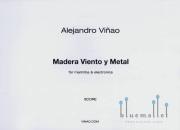 Vinao , Alejandro - Madera Viento y Metal (スコアのみ)