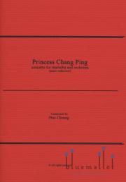 Cheung , Pius - Princess Chang Ping Concerto for Marimba and Orchestra (Piano Reduction) (スコア・パート譜セット)
