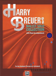 Breuer , Harry - Harry Breuer's Mallet Solo Collection  (ピアノ伴奏版) (スコア・パート譜セット)