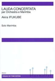 Ifukube , Akira - Lauda Concertata (マリンバパート譜のみ)