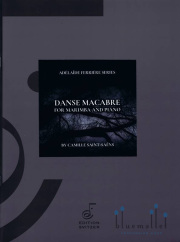Saint-Saens , Camille - Danse Macabre for Marimba and Piano (arr. Adelaide Ferriere) (スコア・パート譜セット)