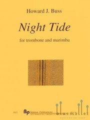 Buss , Howard J. - Night Tide for Trombone and Marimba (スコア・パート譜セット)