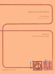 Loucheur , Raymond - Concertino (スコア・パート譜セット)