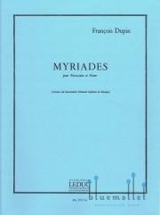 Dupin , Francois - Myriades (スコア・パート譜セット) (特価品)